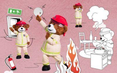 Brannøvelse hjemme