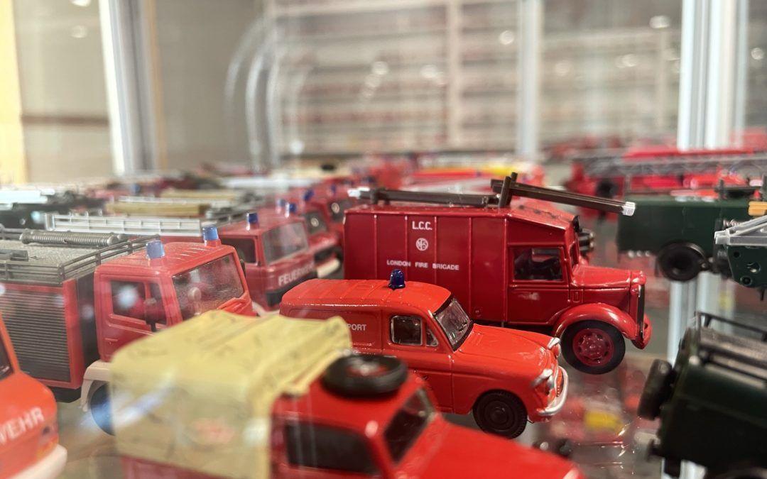 Norges største samling av modellbrannbiler?